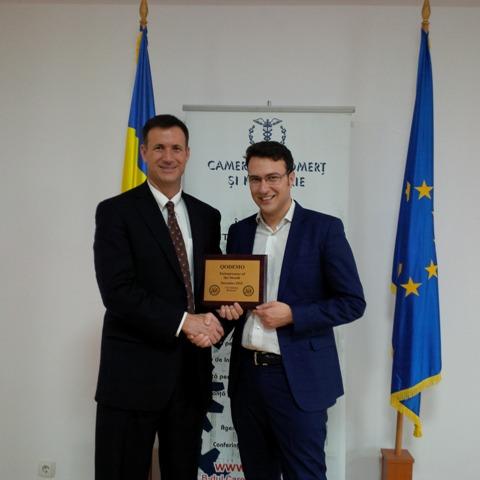 Antreprenorul lunii decembrie – premiat de ambasada SUA