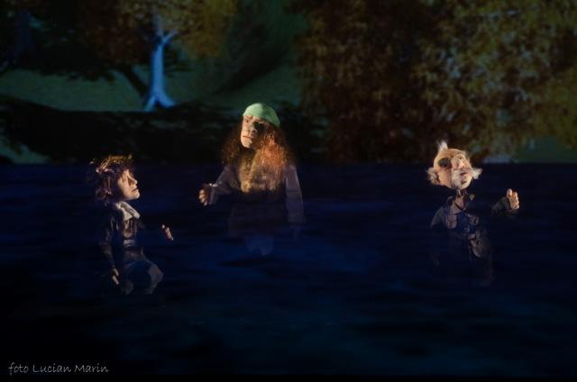 Călătorie spre centrul pământului - un spectacol 3D la Teatrul Gulliver