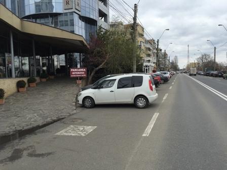 Stăpâna Dunării, NAVROM Galați, s-a împroprietărit cu două parcări aflate pe domeniul public