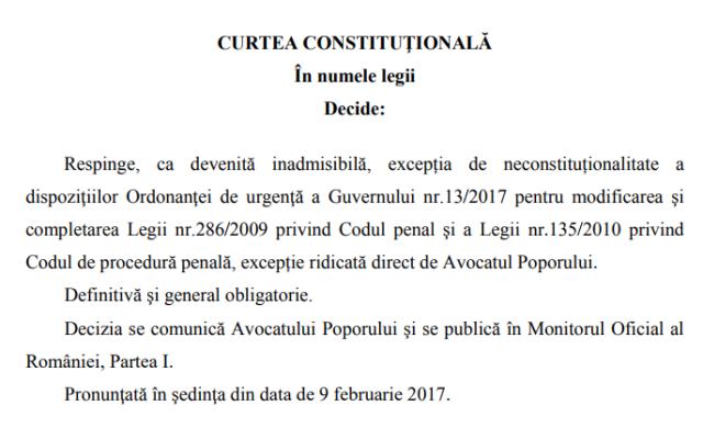 Tudorel Toader minte în legătură cu constituționalitatea Ordonanței 13 – conform Factual, primul site de fact-checking