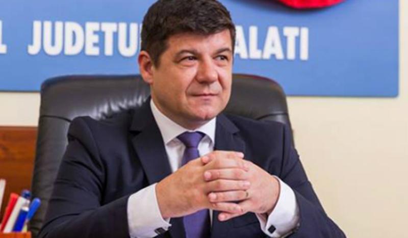 Firma de casă a președintelui Fotea din contractul pentru centura Galațiului intră în faliment