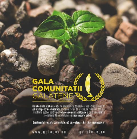 Într-o zonă săracă în civism - Gala Comunității Gălățene premiază schimbarea în bine