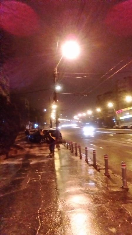 Pucheanu a aflat că trotuarele sunt domeniu public după ce zeci de gălățeni și-au rupt mâinile și picioarele