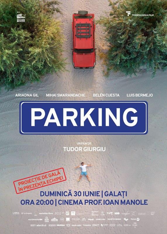 Filmul Parking al lui Tudor Giurgiu - proiecție de gală la Galați