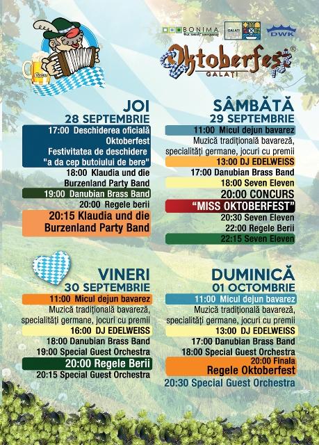 Pentru primarul Pucheanu Oktoberfest face salturi în timp și uită de rigurozitatea germană