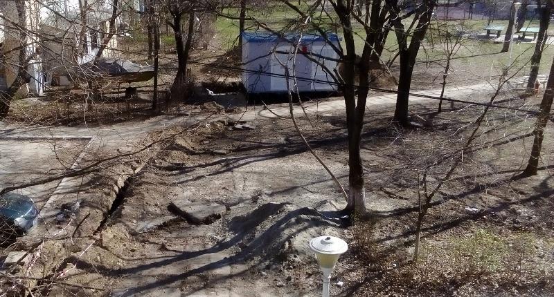 Firma de casă a lui Dan Nica – RBx Electric – abandonează lucrările cu șanțuri și gropi neprotejate