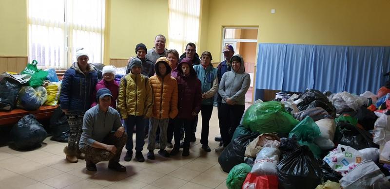 Gălățenii au donat peste 25 de tone de bunuri pentru semenii lor aflați în dificultate