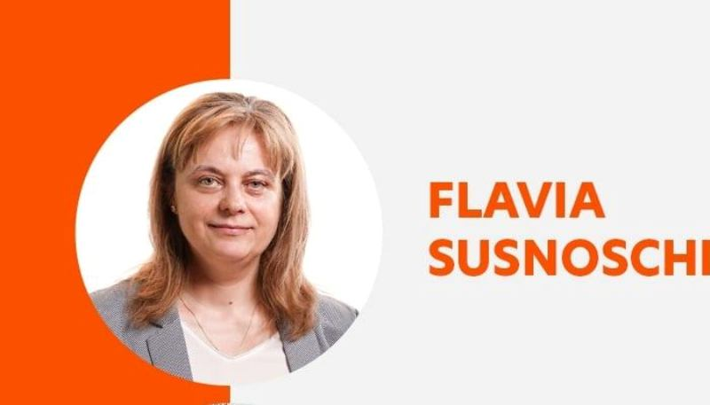 Plus Galați a desemnat-o candidat de primar pe Flavia Susnoschi