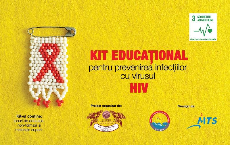 Kit educațional gratuit pentru cadrele didactice și asociațiile interesate de domeniul prevenirii HIV