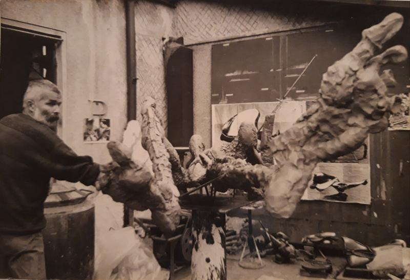 Recviem pentru sculptorul gălățean Mircea Enache