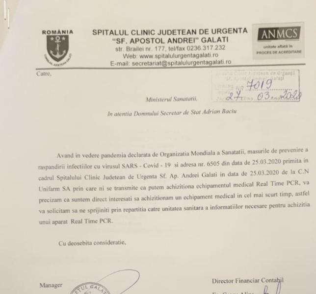 Procurorii și gălățenii n-au nicio reacție la faptul că președintele CJ Fotea a ascuns un tester PCR performant