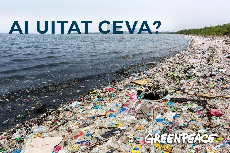#PlasticFreeJuly (Iulie Fără Plastic) - Greeanpeace