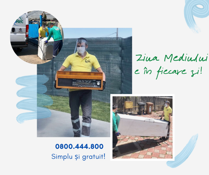 RoRec a reluat Serviciul Național de Colectare a deșeurilor electrice