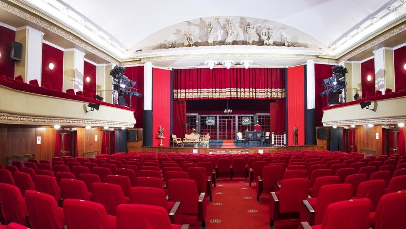 """Teatrul Dramatic """"Fani Tardini"""" reia reprezentațiile în sala mare de spectacole"""