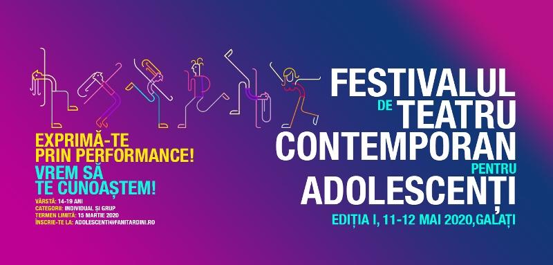 """Festivalul de Teatru Contemporan pentru Adolescenți – la Teatrul Dramatic """"Fani Tardini"""""""