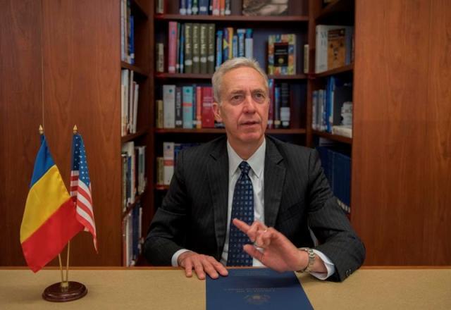 """Ambasadorul SUA: """"Eu văd potențial pentru ca România să fie o țară puternică și bogată"""""""