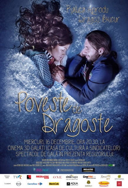 "Filmul ""Poveste de dragoste"" - al Cristinei Iacob - va rula la Galați"