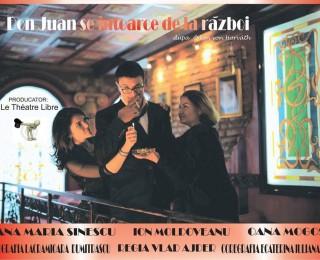 """O nouă premieră teatrală în Galați: """"Don Juan se întoarce de la război"""""""