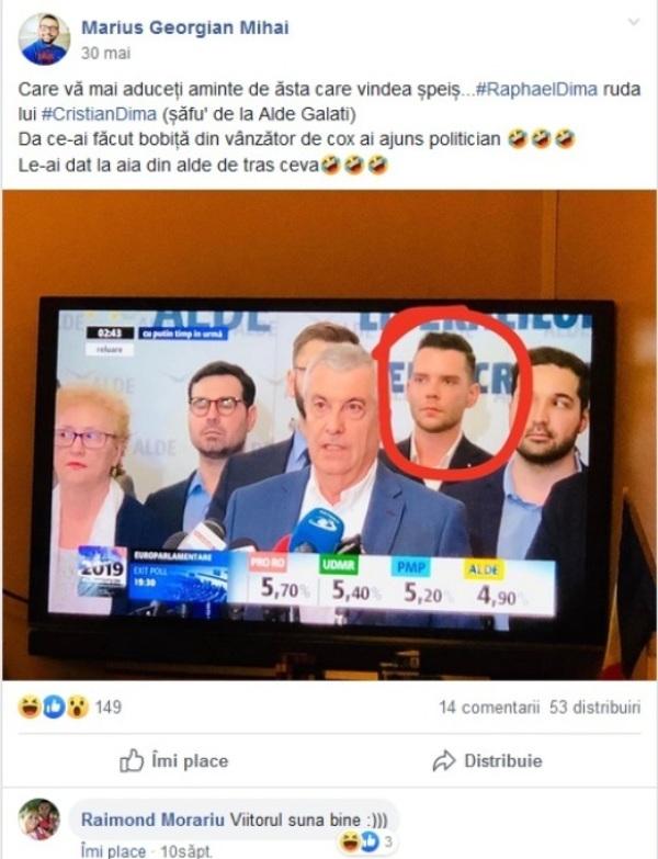"""Cristian Dima i-a băgat în ALDE un dealer de """"cox"""" - Tăriceanu i l-a returnat pe Durbacă"""