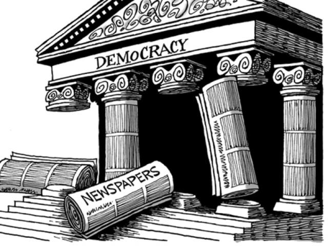 Europa a devenit partea lumii în care libertatea presei s-a deteriorat cel mai mult în ultimii ani