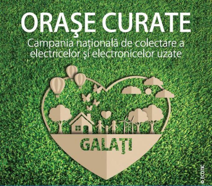 """Campania ECOTIC """"Orașe Curate"""" revine în Galați pentru colectarea echipamentelor electrice și electronice uzate"""